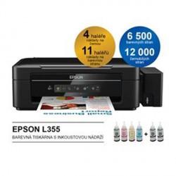 EPSON L355, 35 ppm A4, MF, 27 ppm, ITS