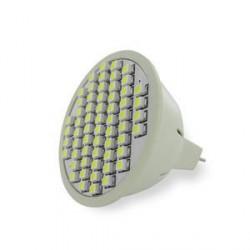 WE LED žárovka 60xSMD 3W GU5.3 bílá – refl