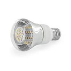 WE LED žárovka 80xSMD 4W E27 bílá - reflektorová