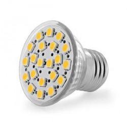 WE LED žárovka 21xSMD 2,6W E27 teplá bílá – refl