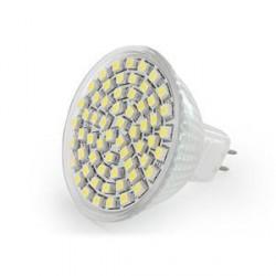WE LED žárovka 60xSMD 3,7W GU5.3 bílá – refl