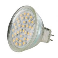 WE LED žárovka 36xSMD 2W GU5.3 teplá bílá – refl