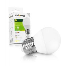 WHITENERGY LED žárovka, 3xSMD2835, B45, E27, 3W, bílá mléčná