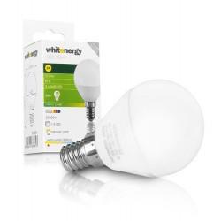 WHITENERGY LED žárovka, 3xSMD2835, B45, E14, 3W, bílá mléčná