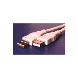 KABEL USB A-A propojovací 3.0m 2.0