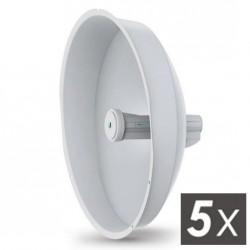 UBNT PowerBeam 5 AC ISO 400mm 25dbi Gb LAN 5pck