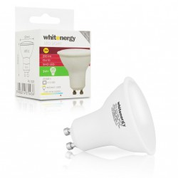WE LED žárovka SMD2835 MR16 GU10 3W studená bílá
