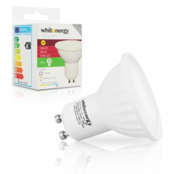 WE LED žárovka SMD2835 MR16 GU10 5W studená bílá