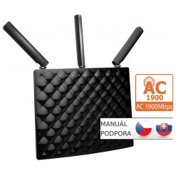Tenda AC15 Wireless AC Router 1900Mb/s, 1x USB3.0, 1x GWAN, 3x GLAN,DLNA,FTP/VPN/Print server,3x5dBi