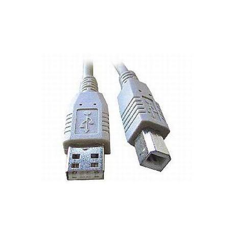 USB kabel typu AB, délka 4,5m HQ Black