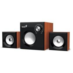 Speaker GENIUS SW-2.1 370 WOOD SPK 8W (6W+1W X 2)