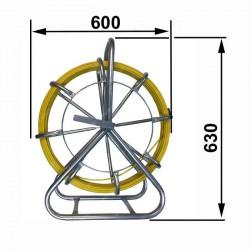 "Laminátové protahovací péro ""kobra"" 6mm 100m"