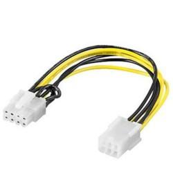 REDUKCE Napájecí redukce P4 (6piny) na P4 (8pinů) PCI Express