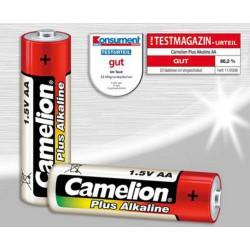 CAMELION 4pack PLUS ALKALINE AA/LR6 baterie alkalické (cena za 4pack)