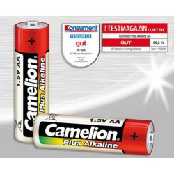 CAMELION 10pack PLUS ALKALINE AA/LR6 baterie alkalické (cena za 10pack)