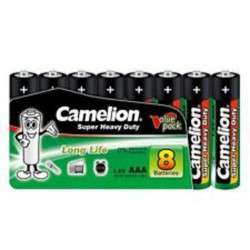 CAMELION 8pack SUPER HD AAA/R03 baterie zinková (cena za 8pack)