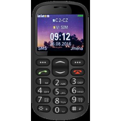 ALIGATOR A880 GPS Senior černý +st. nab.