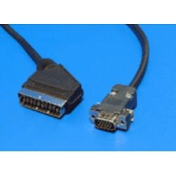 KABEL propojovací VGA MD15HD - Scart(M) 2m,