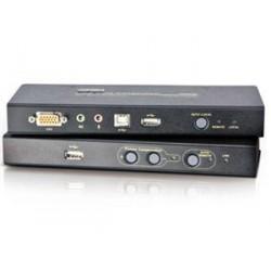 ATEN Extender PC konzole na 250m, USB, audio,flash