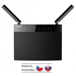 Tenda AC9 WiFi AC Router 1200Mb/s, 1x USB, 1x GWAN, 4x GLAN, FTP/VPN/SAMBA/Print Server, 2x 5dBi