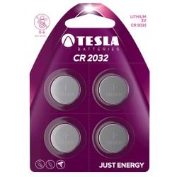 TESLA - baterie TESLA CR2032, 4ks, CR2032