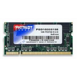 SO-DIMM 1GB DDR 333MHz Patriot