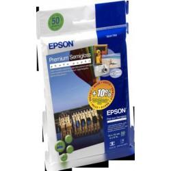 EPSON Premium Semigloss Photo Paper,100x150 mm,50x