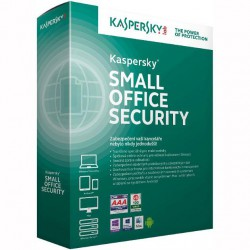 Kaspersky Small Office 5/ 10-14 nods/ 1 year /Nová