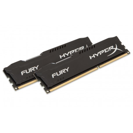 16GB DDR3-1600MHz Kingston HyperX Fury Black,2x8GB