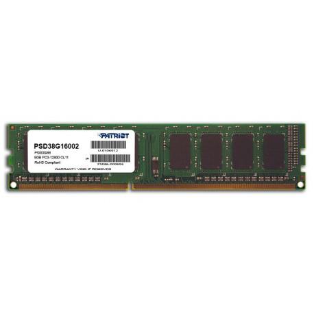 8GB DDR3 1600MHz Patriot CL11
