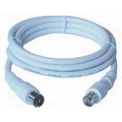 KABEL anténní TV prodlužovací kabel 5.0m, 75 Ohm, IEC male-female