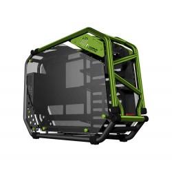 skříň In Win D-FRAME 2.0 black/green + 1065W zdroj