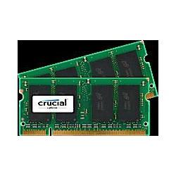 SO-DIMM kit 2GB DDR2-800 MHz Crucial CL6, 2x1GB