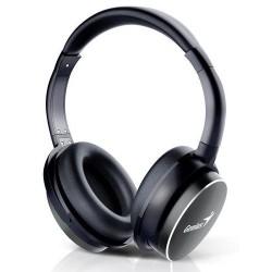 GENIUS sluchátka HS-940BT bluetooth headset černé BT4.0 dobíjecí PROFI