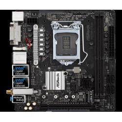 ASROCK MB H270M-ITX/AC (intel 1151, 2xDDR4 2400MHz, WIFI, DVI+ 2xHDMI, USB3.0, 6xSATA3 +RAID + M.2, 7.1, 2xGLAN, ITX)