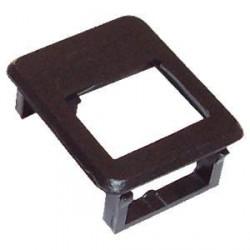 DATACOM Rámeček pro keystone do modulár.patch panelu černý