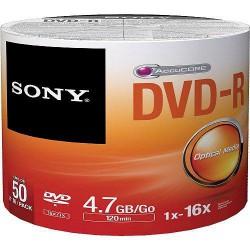 Média DVD-R SONY 4.7GB 50ks Bulk
