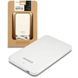 "AXAGON USB2.0 - SATA 2.5"" externí PURE box WHITE"