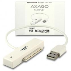 "AXAGON ADSA-1S USB2.0 - SATA HDD adapter vč. 2.5"" pouzdra"