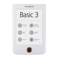 Pocketbook 614+ Basic 3, White