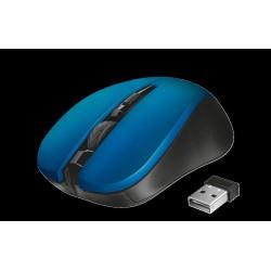 myš TRUST Mydo Silent Click Wireless Mouse - blue (tichá myš)