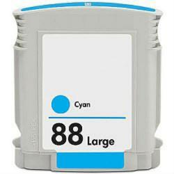 HP C9391A kompatibilní náplň azurová (C9391AE Cyan č.88) pro Officejet pro k550, Officejet pro L7480, L7580, L7590, L7680, L7780