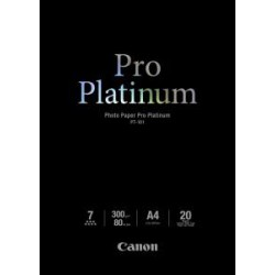Canon PT-101, A4 fotopapír lesklý, 20ks, 300g/m