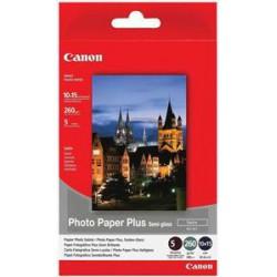 Canon SG-201, 10x15 fotopapír saténový, 5ks, 260g
