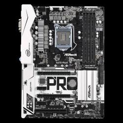 ASROCK MB H270 PRO4 (intel 1151, 4xDDR4 3733MHz, VGA+DVI +HDMI, USB3.0, 6xSATA3 +RAID + 2xM.2, 7.1, GLAN, ATX)