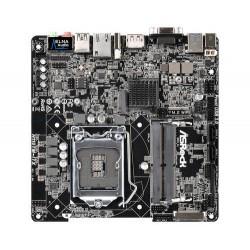 ASROCK MB H110TM-ITX R2.0 (intel 1151, 2x DDR4 SO-DIMM, VGA+HDMI+DPort +LVDS, SATA3, M.2, USB3.1, GLAN, Thin miniITX, DC napájen