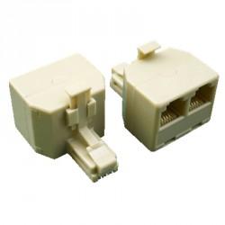 DATACOM Rozdvojka UTP CAT5E  3xRJ45 (8p8c-1M/2F)