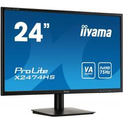 """24""""LCD iiyama X2474HS-B1,VA,HDMI,4ms,DP,repro,jag"""
