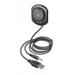 TRUST Lega 2-in-1 Bluetooth Music Receiver and Car Kit