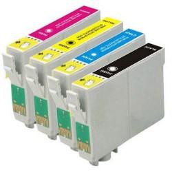 EPSON T1295 kompatibilní sada náplňí C/M/Y/Bk (T1291 +T1292 +T1293 +T1294) pro Stylus SX420, 425, SX525, SX620, BX305, 320, 525